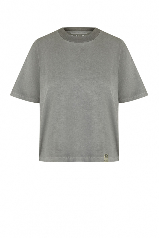 Inga T-shirt - Dove Grey - 1 (XS)