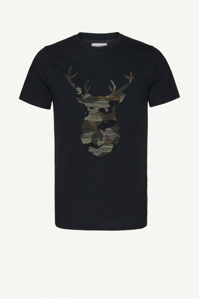 James No Deer Here - Black