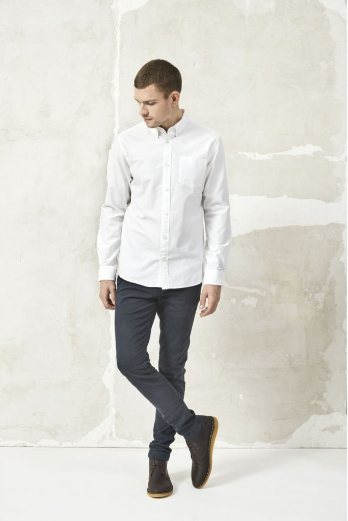 Button Down Oxford Shirt - Bright White