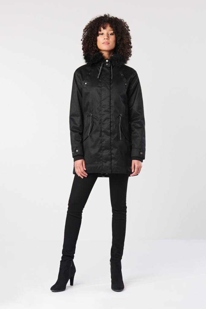Ladies Nordic Light Parka - Nightwatch Black