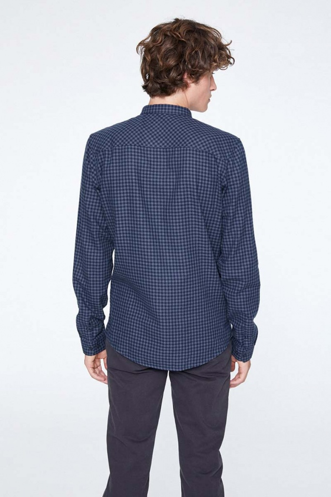 Lennard Check - Grey