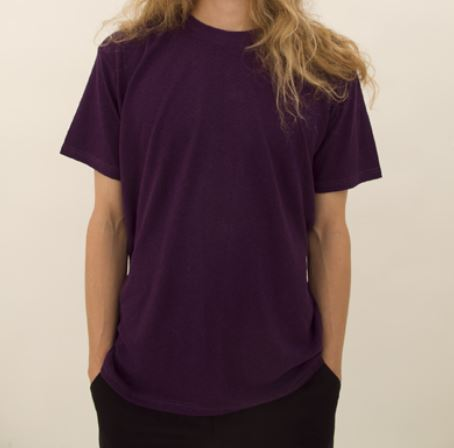 Hemp T-Shirt - Blackberry