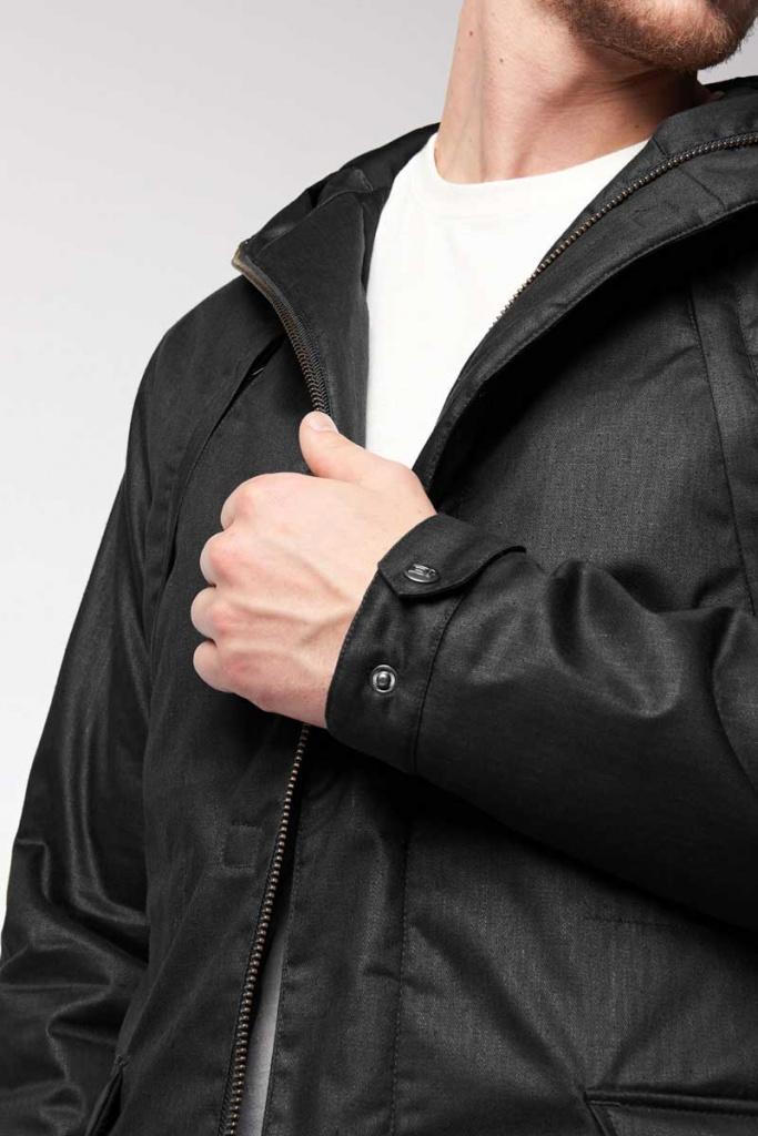 Men's Nordic Light Parka - Nightwatch Black