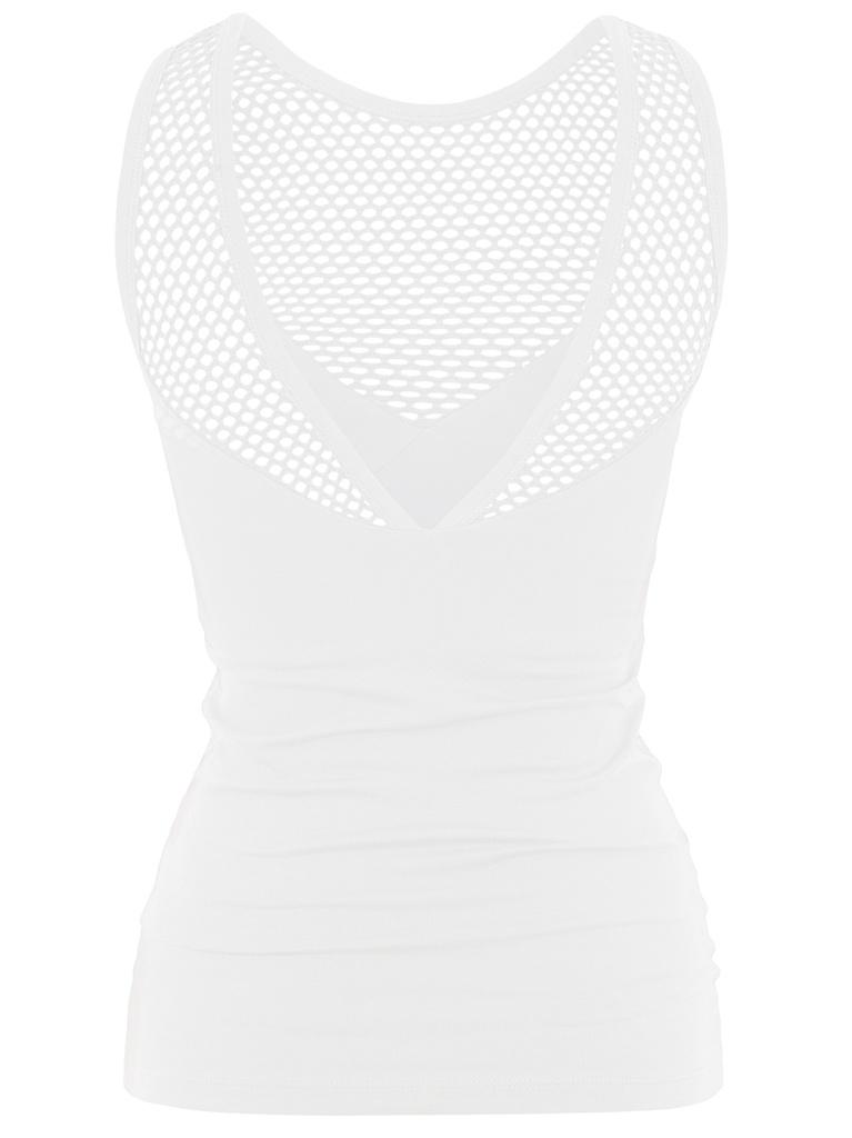 Mesh Top - White