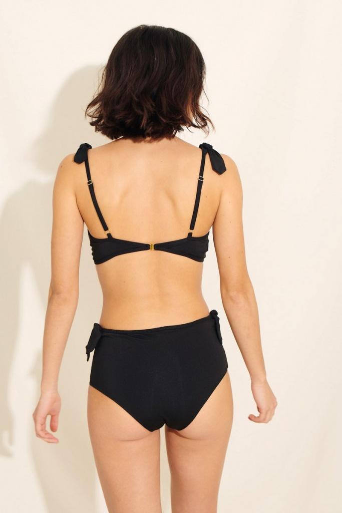 Manon Bikini Hipsters - Black