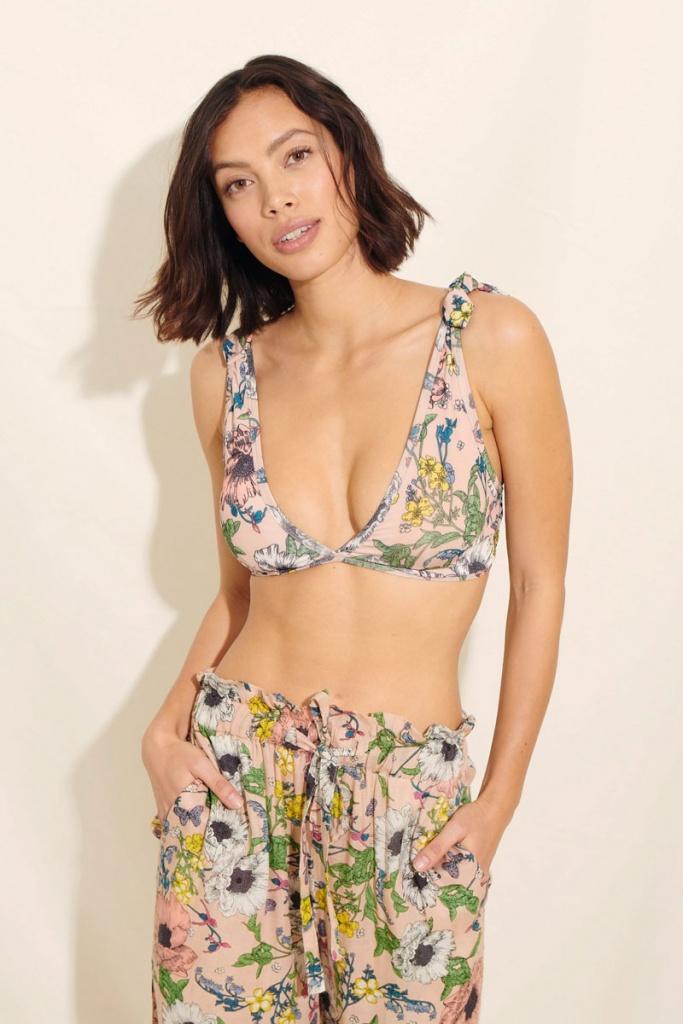 Manon Bikini Bra - Nude
