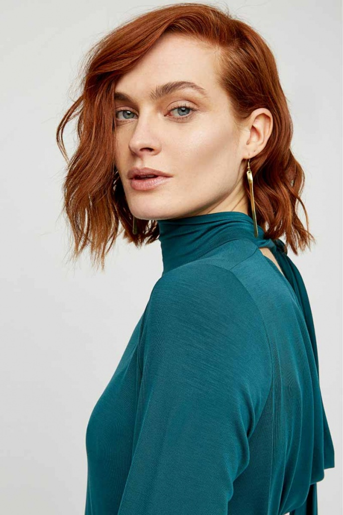 Marylou Top - Turquoise