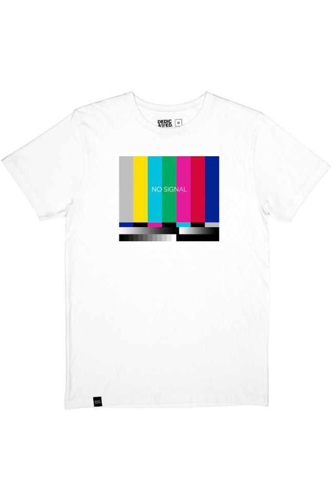 T-Shirt Stockholm No Signal - White