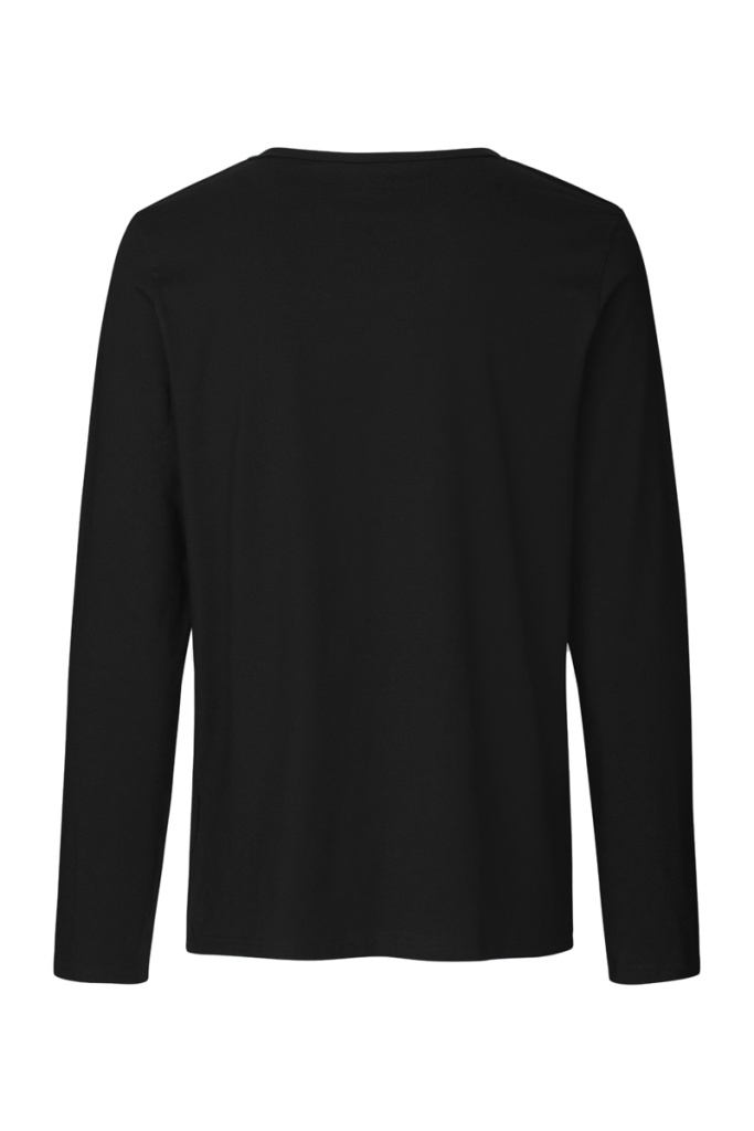 Long Sleeve T-Shirt Masculine - Black - XL