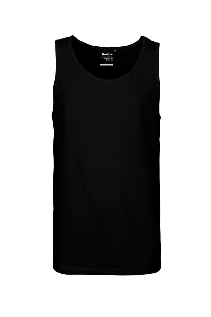 Tank Top Masculine - Black - L