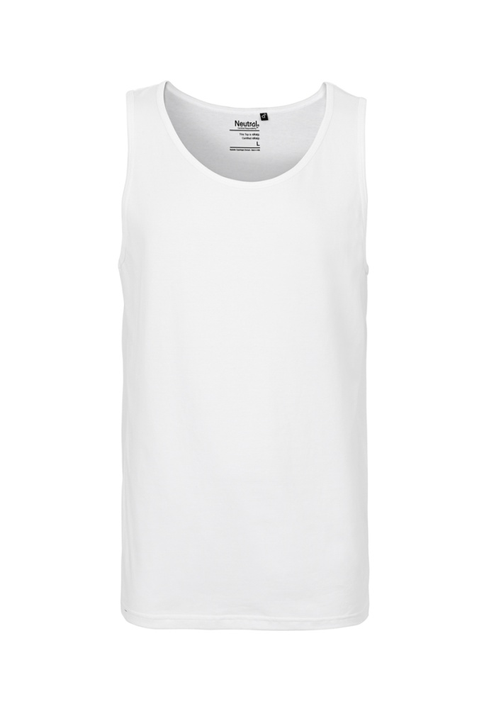 Tank Top Masculine - White - XL