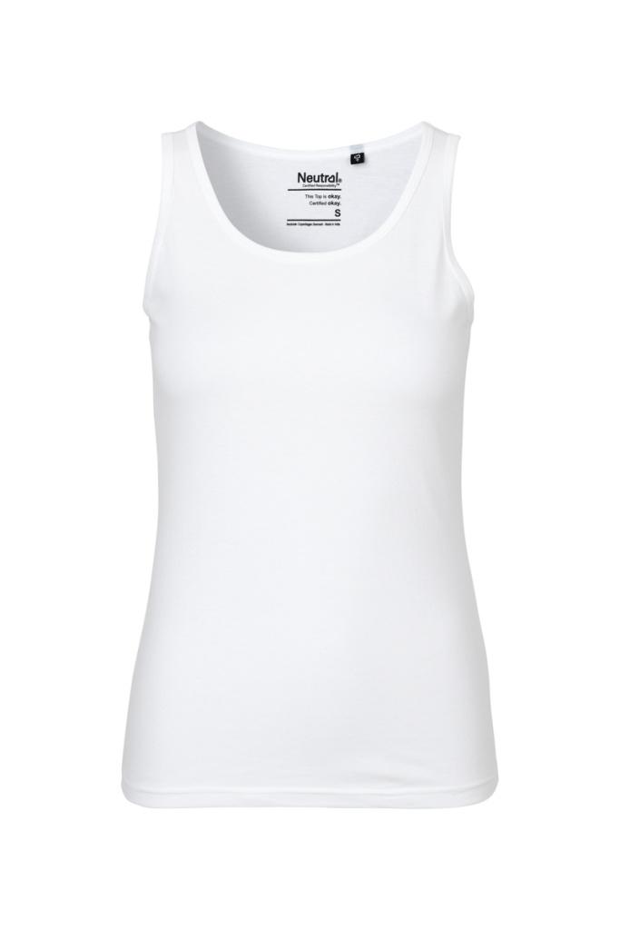 Tank Top Feminine - White - XS