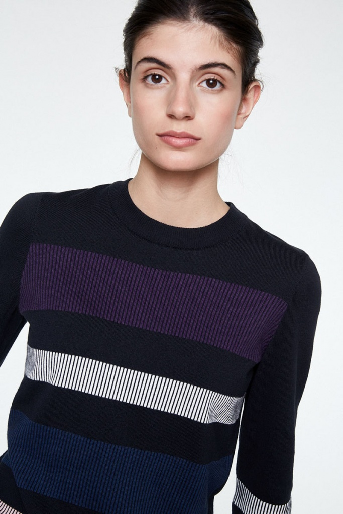 Oxana Bold Stripes