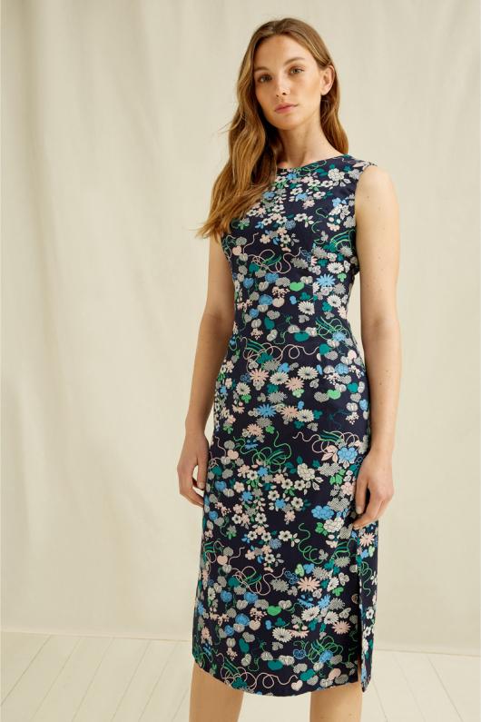 V&A Floral Print Dress - 08 (XS)