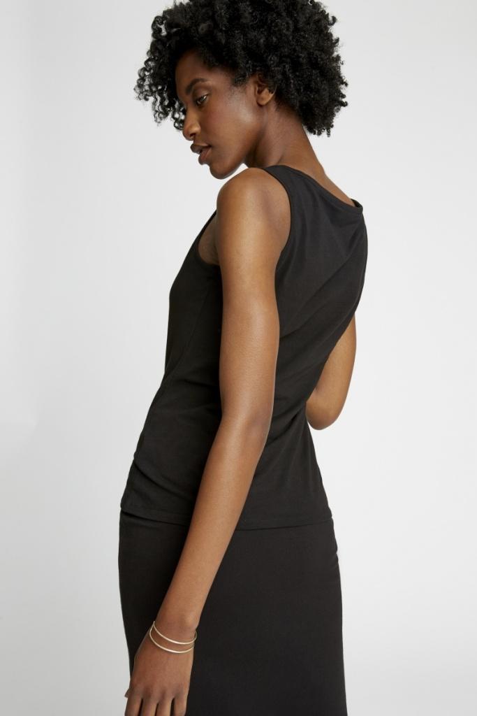 Lizzie Vest - Black