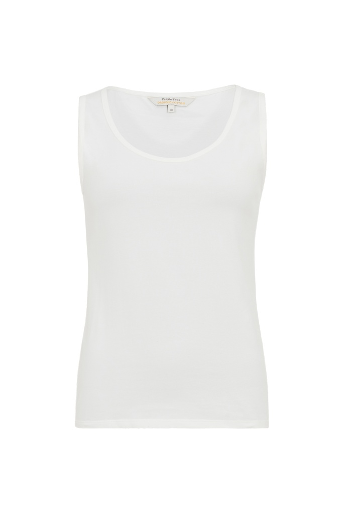 Lizzie Vest - White