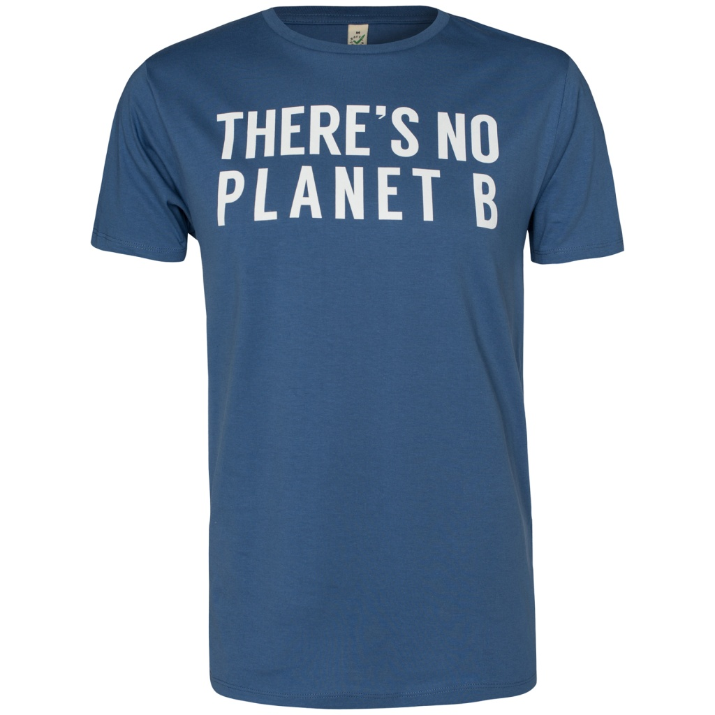 There´s No Planet B Masculine - Blue