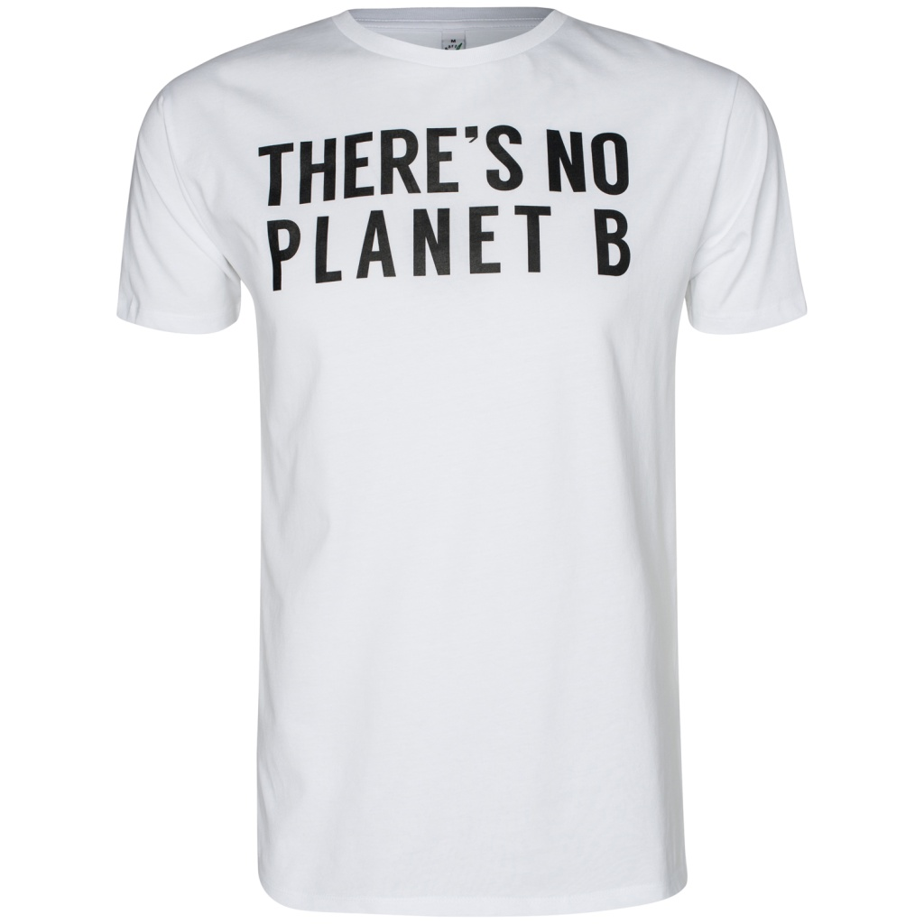 There´s No Planet B Masculine Unisex - White