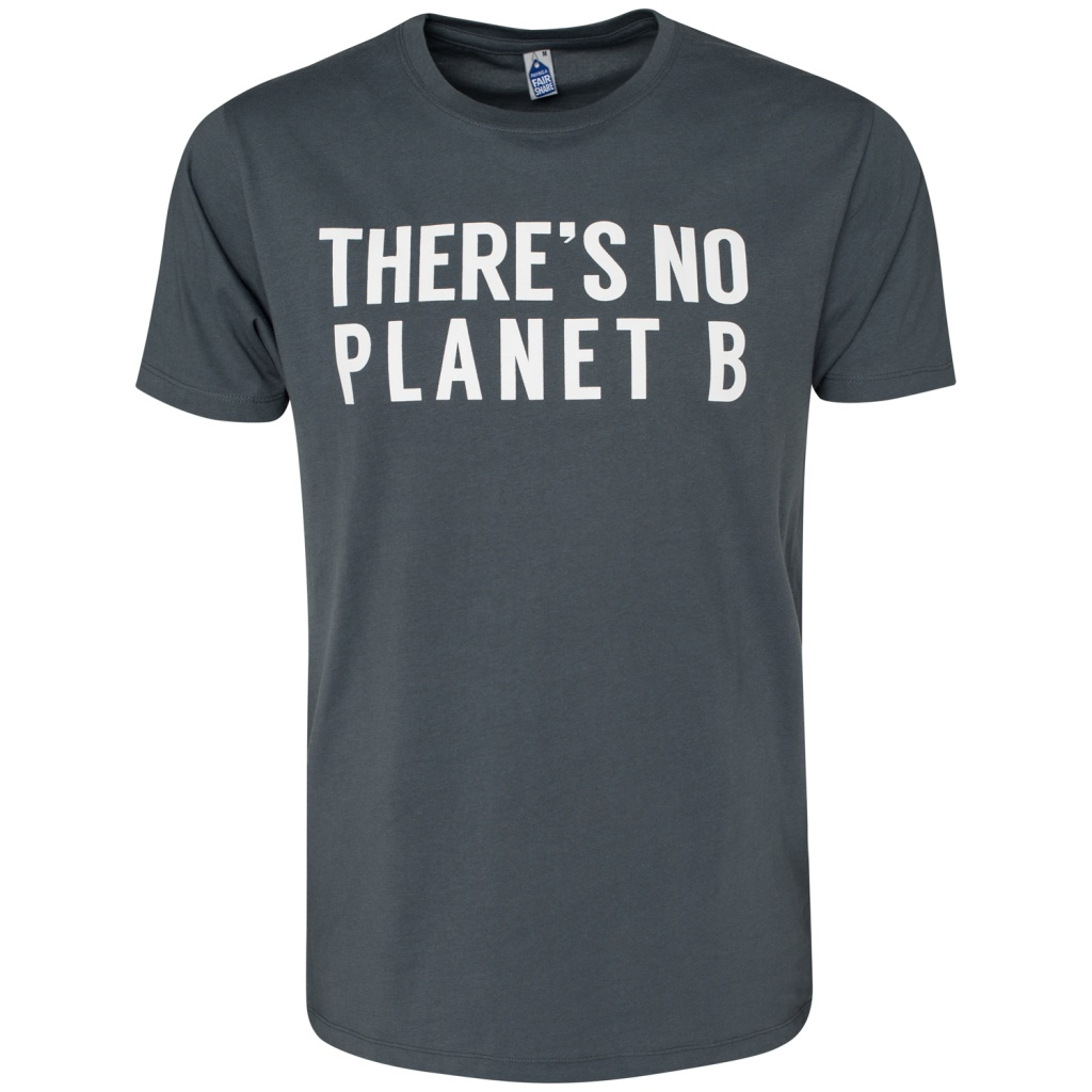 There's No Planet B Masculine - Charcoal