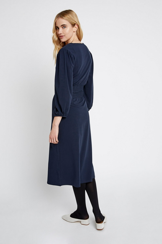Riona Dress - Navy