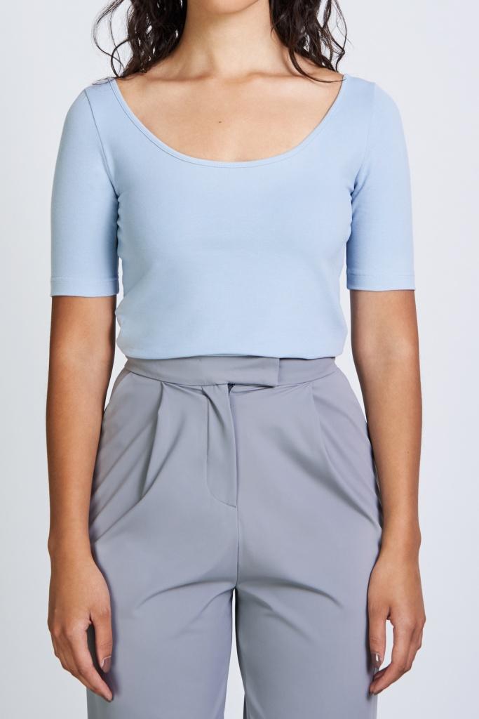 T-shirt SCOOP - Light Blue - XS