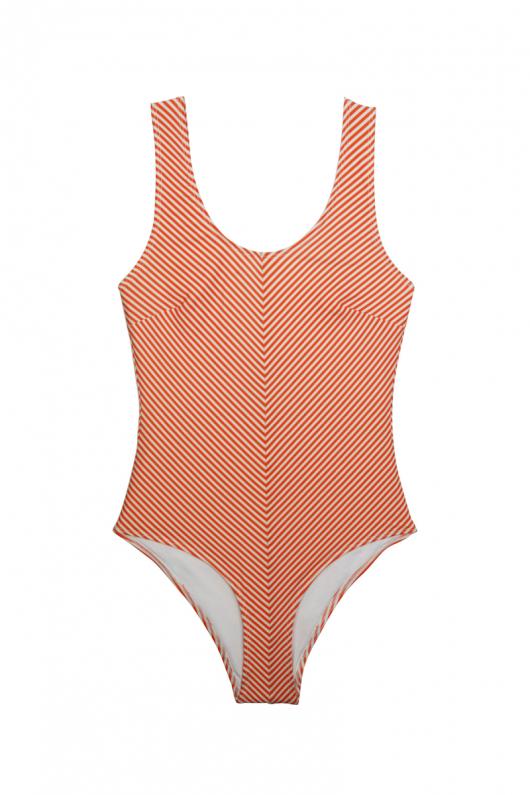Stina Swimsuit - Orange - L