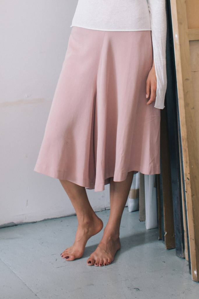 Skirt Culottes - Rose