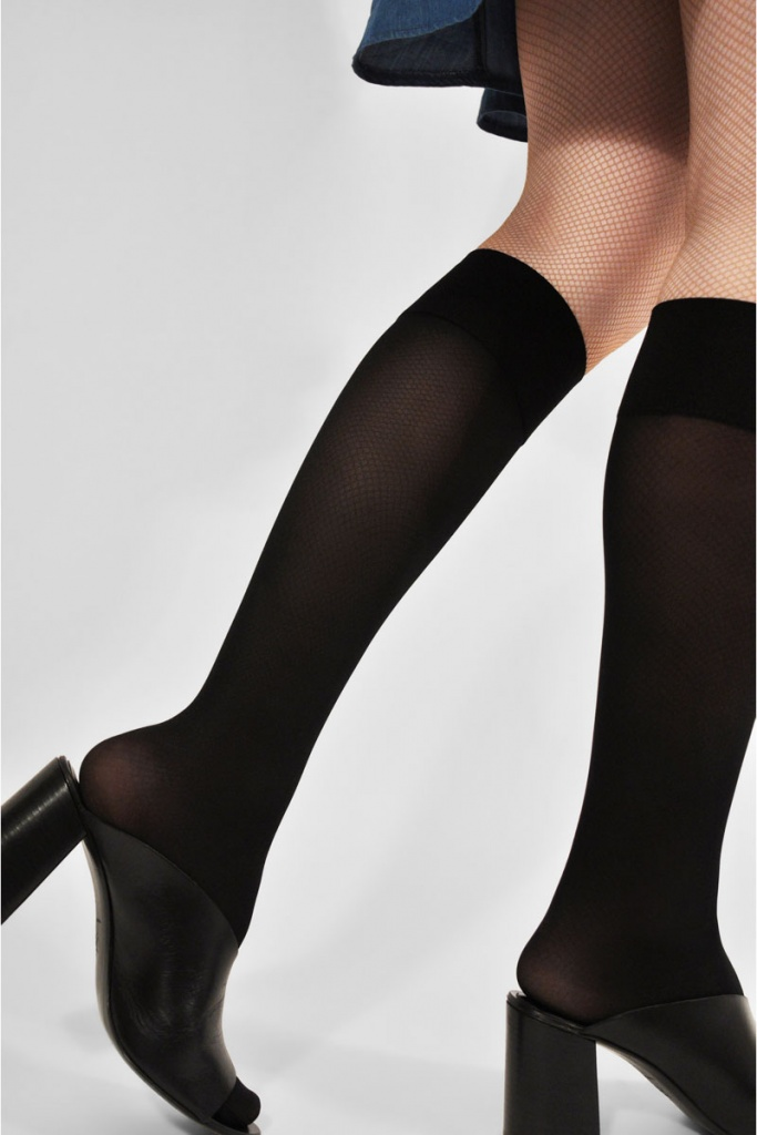 Irma Support Knee Highs - Black