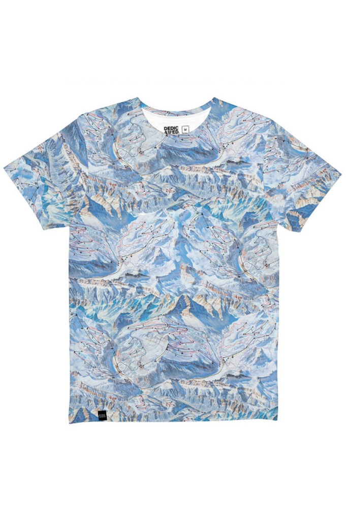 T-shirt Stockholm Ski Area - Multi Color - XL