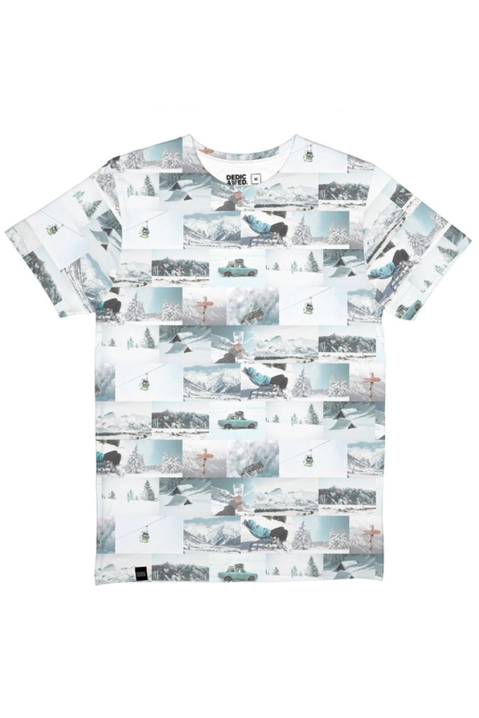 T-shirt Stockholm Winter Collage - Multi Color