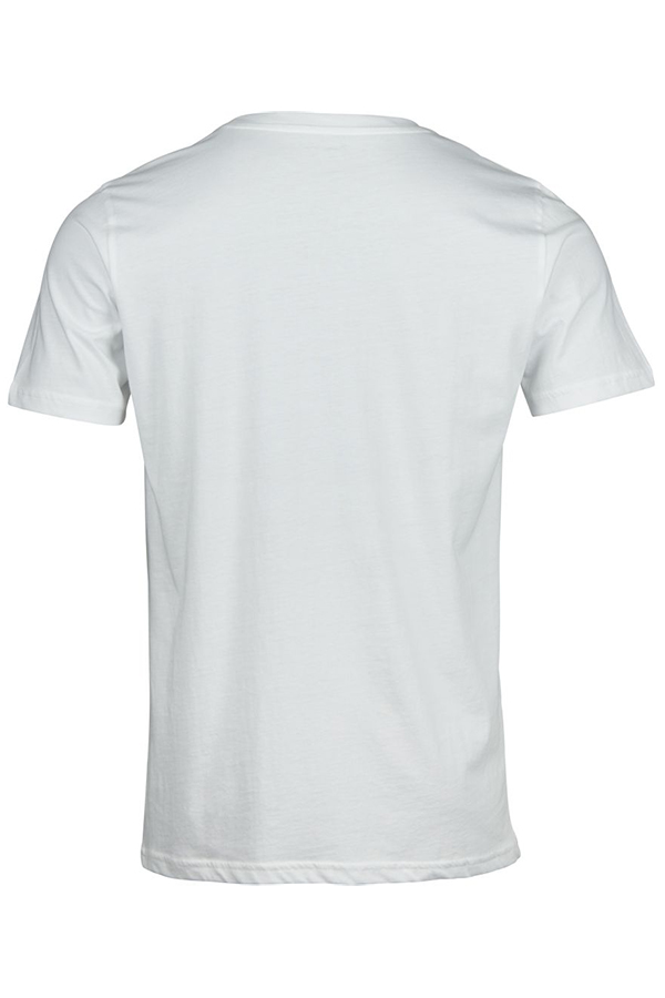 T-shirt with printed handelbars
