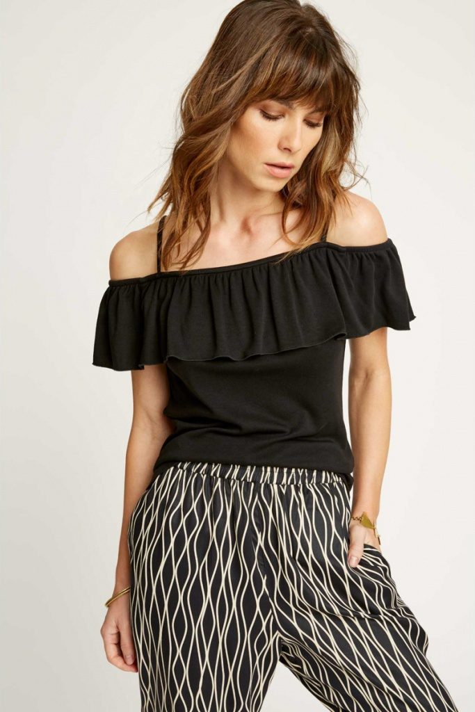 Michelle Top - Black - 08 (XS)
