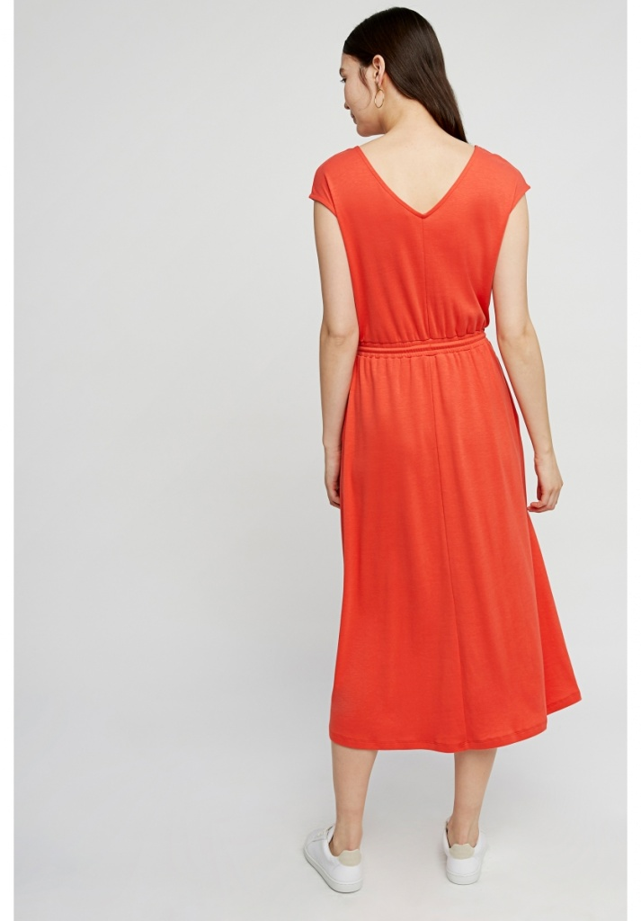 Delphine Dress - Red