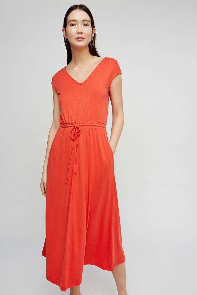 Delphine Dress - Red - 14 (L)