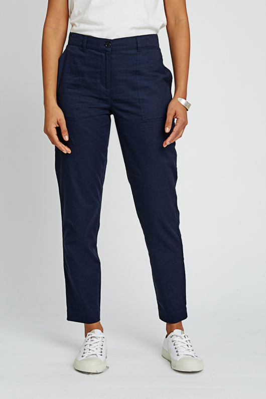 Claudia Trousers - Navy - 16 (XL)