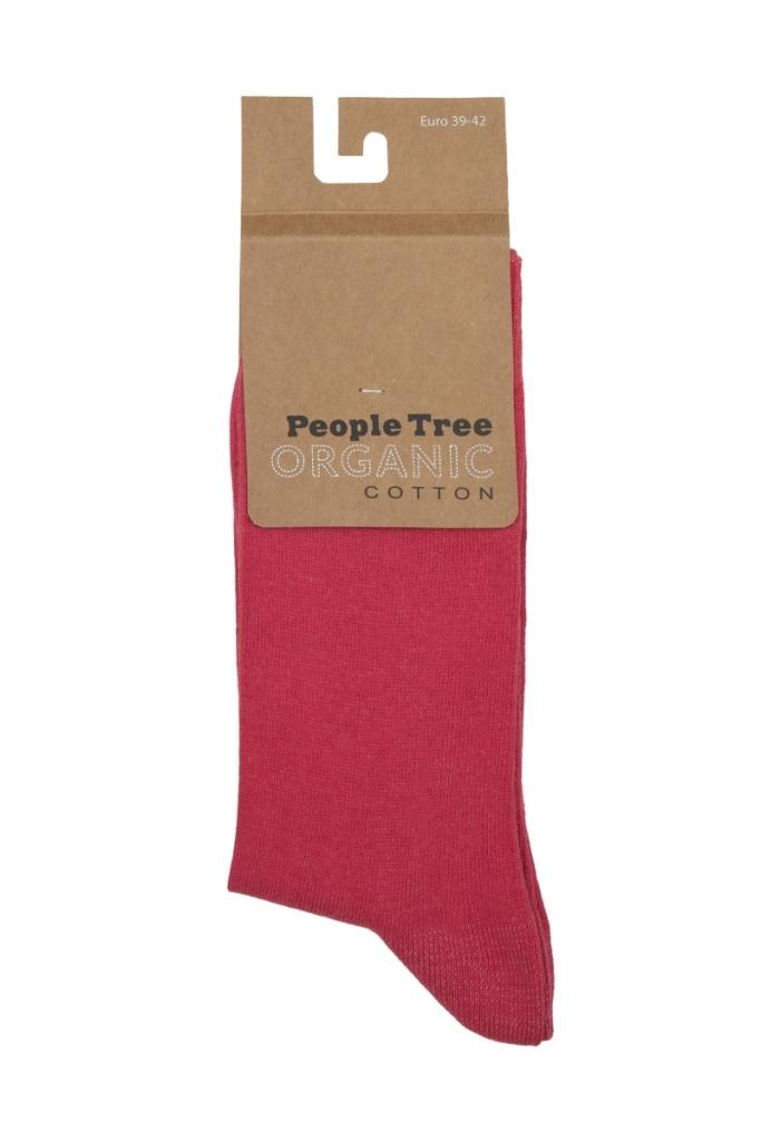 Organic Cotton Socks - Pink