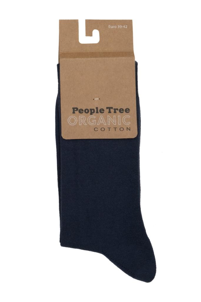 Organic Cotton Socks - Navy - 39-42