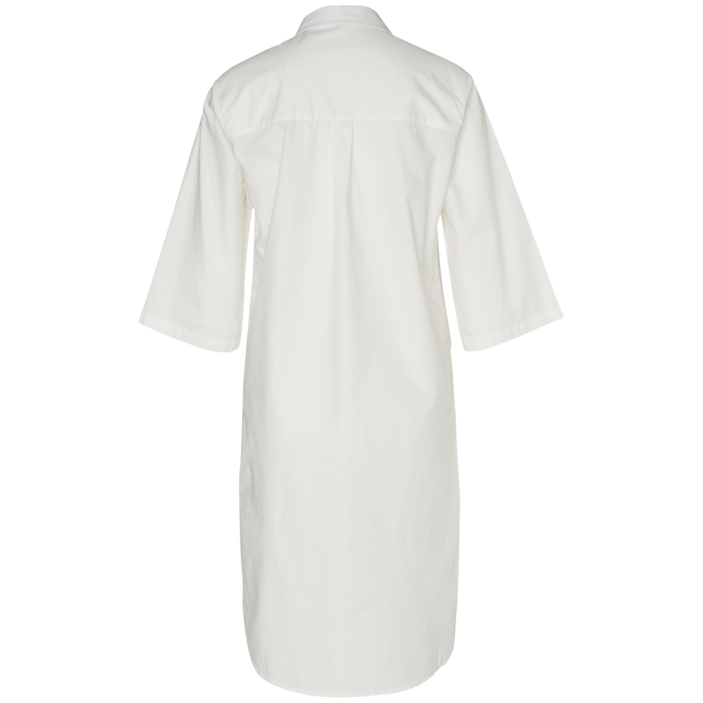 Blouse Dress - White - S