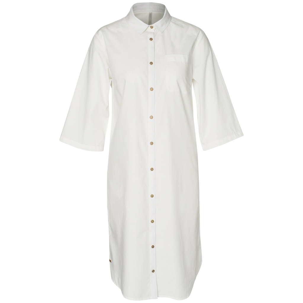 Blouse Dress - White