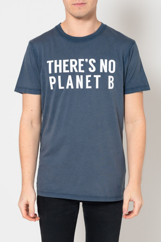 There´s No Planet B Unisex Masculine - Vintage Denim
