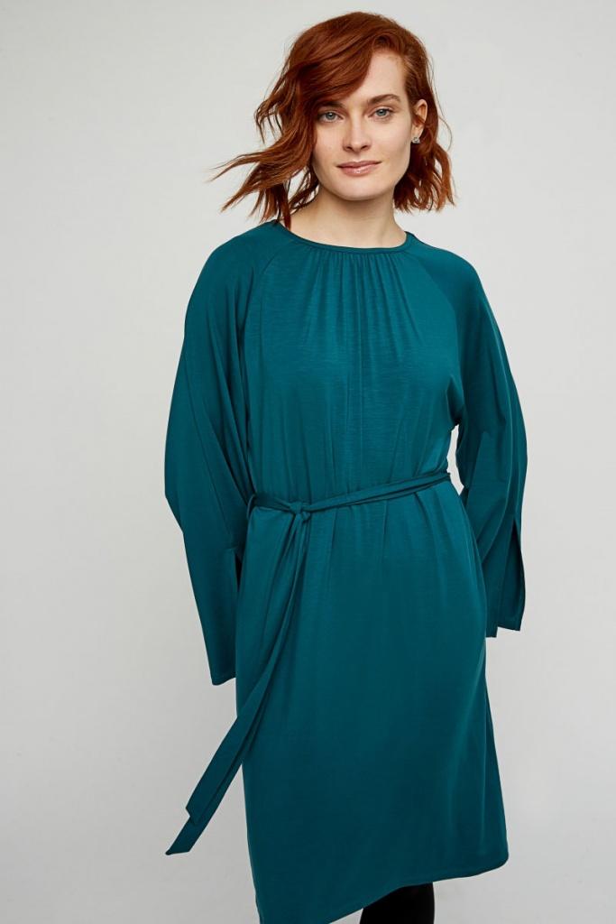 Vella Dress - Turquoise - 14 (L)