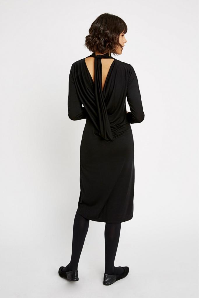 Karen Dress - Black - 08 (XS)