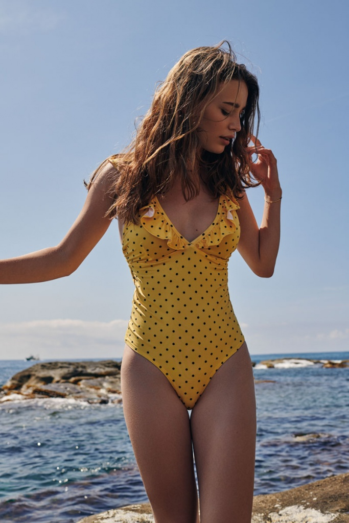 Donna Swimsuit - Yellow