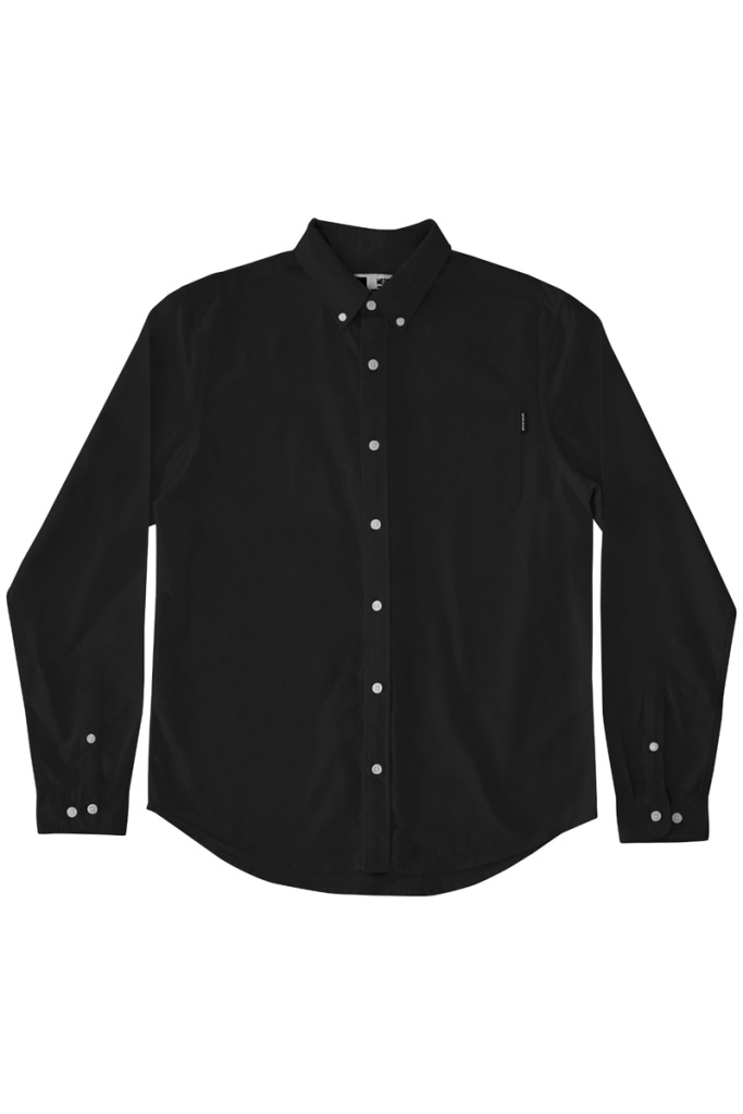 Varberg Oxford Shirt - Black