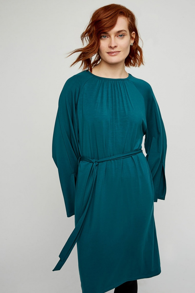 Vella Dress - Turquoise