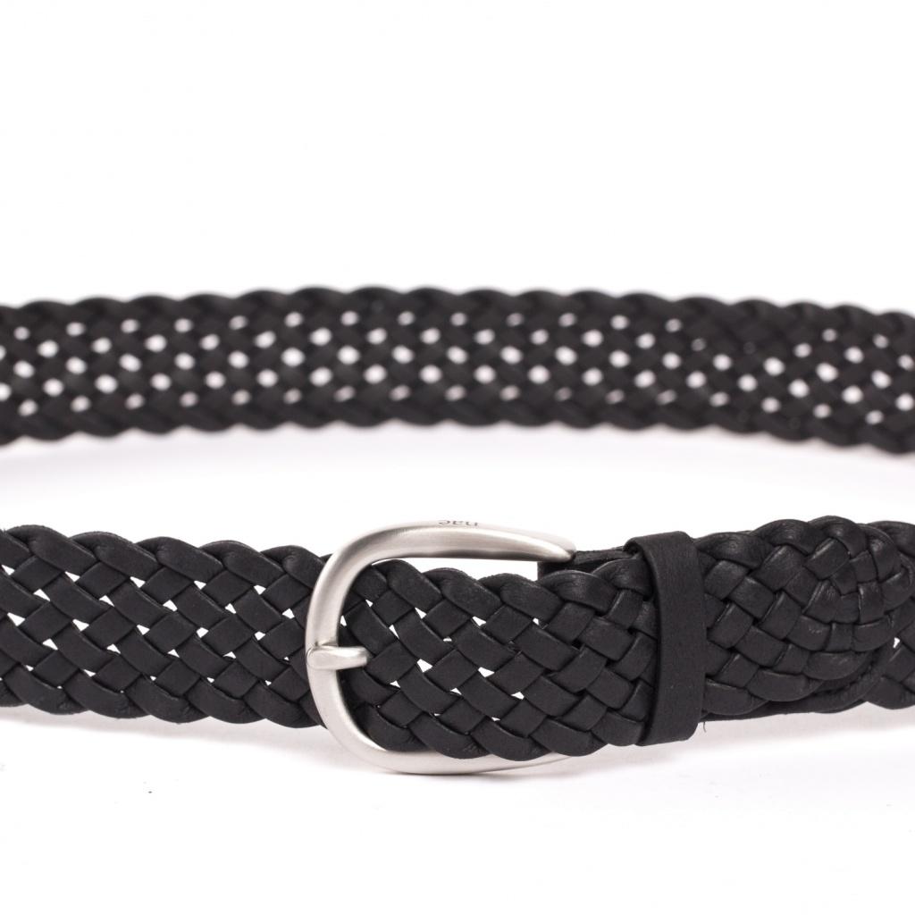 Vegan Belt Braided - Black