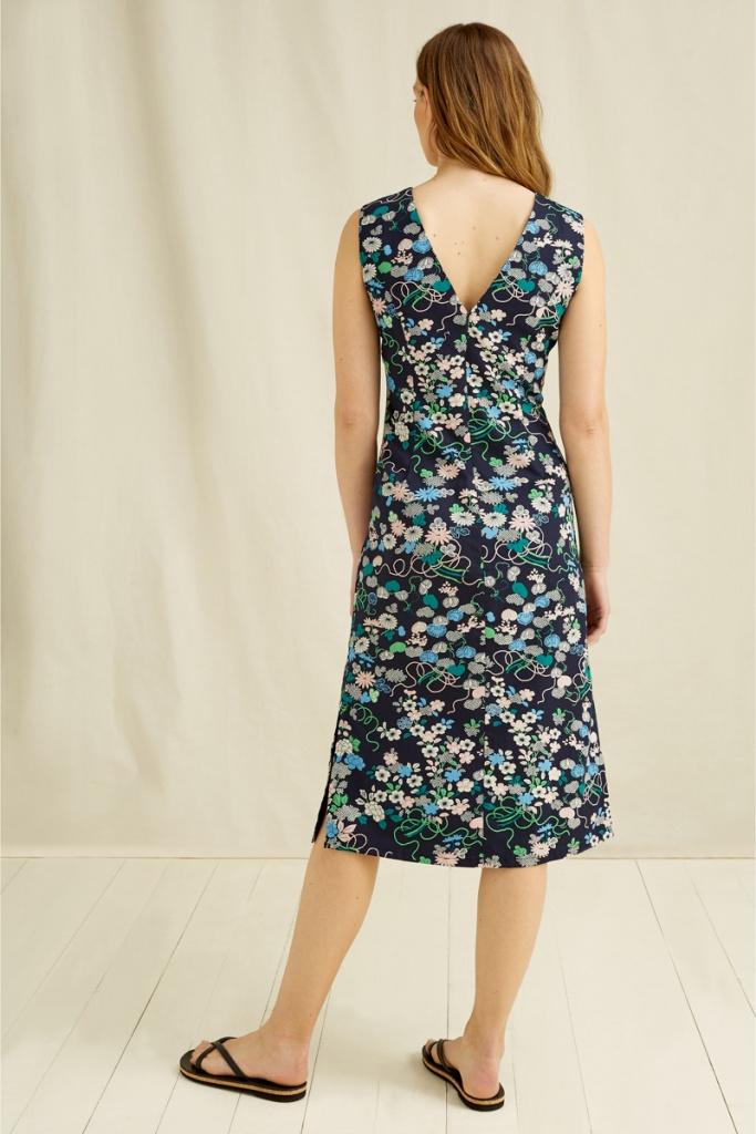 V&A Floral Print Dress