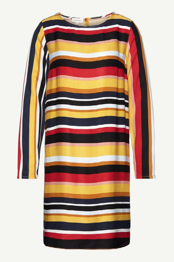 Zoe Multicolor Stripe - Black