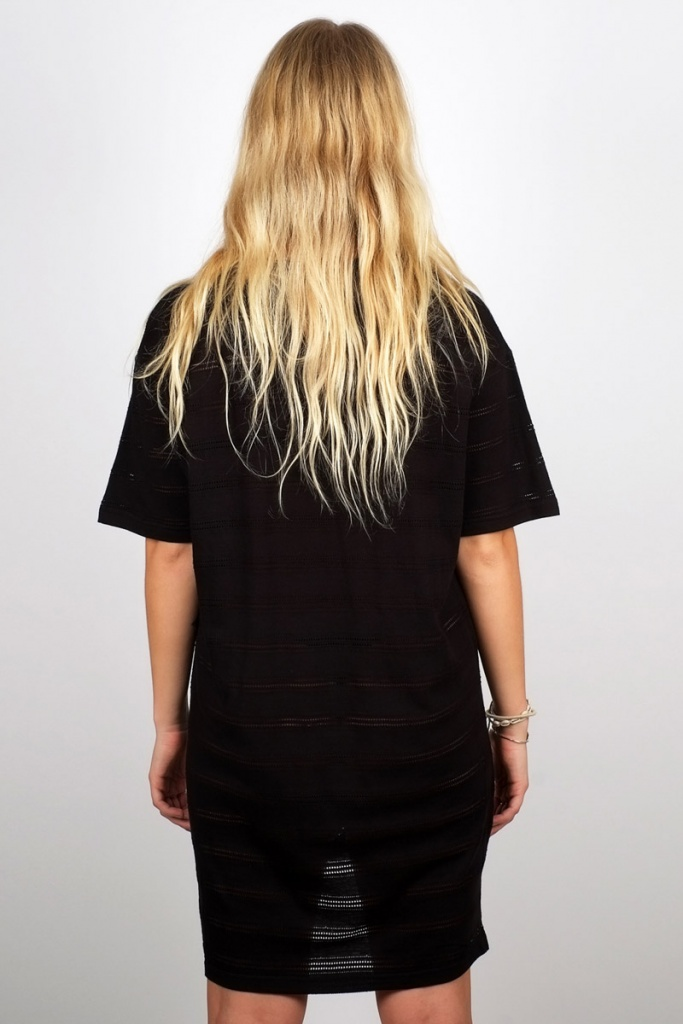 T-Shirt Alta Lace Jersey - Black