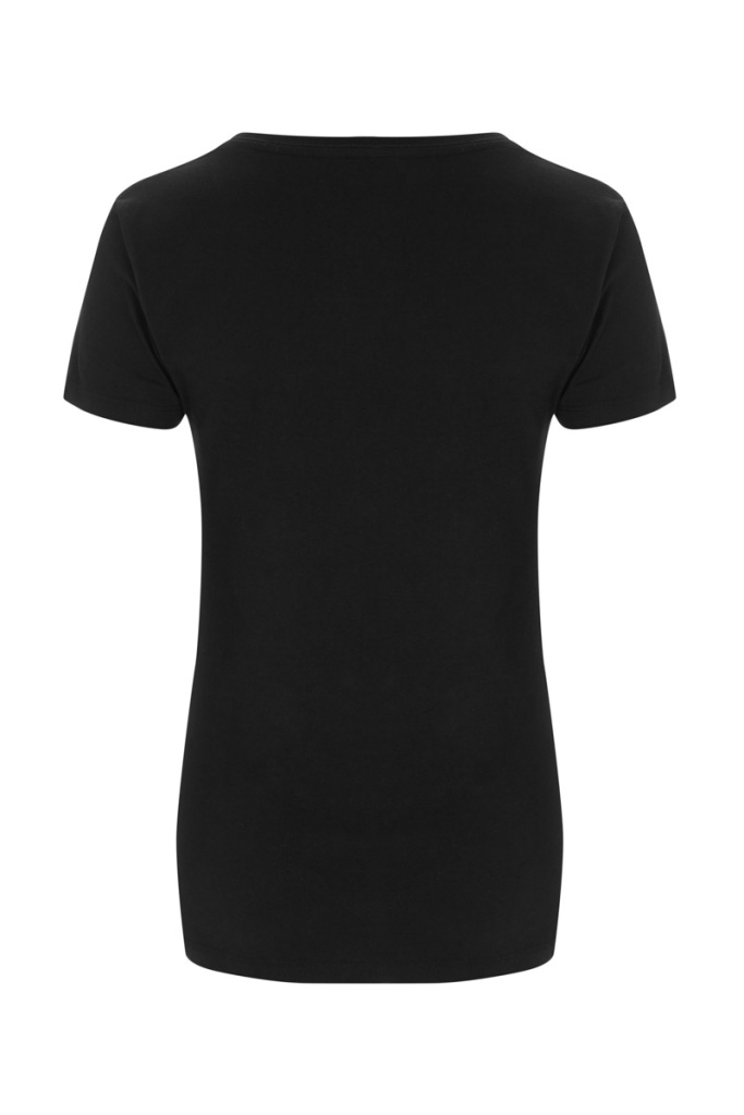 Basic Feminine T-shirt - Black